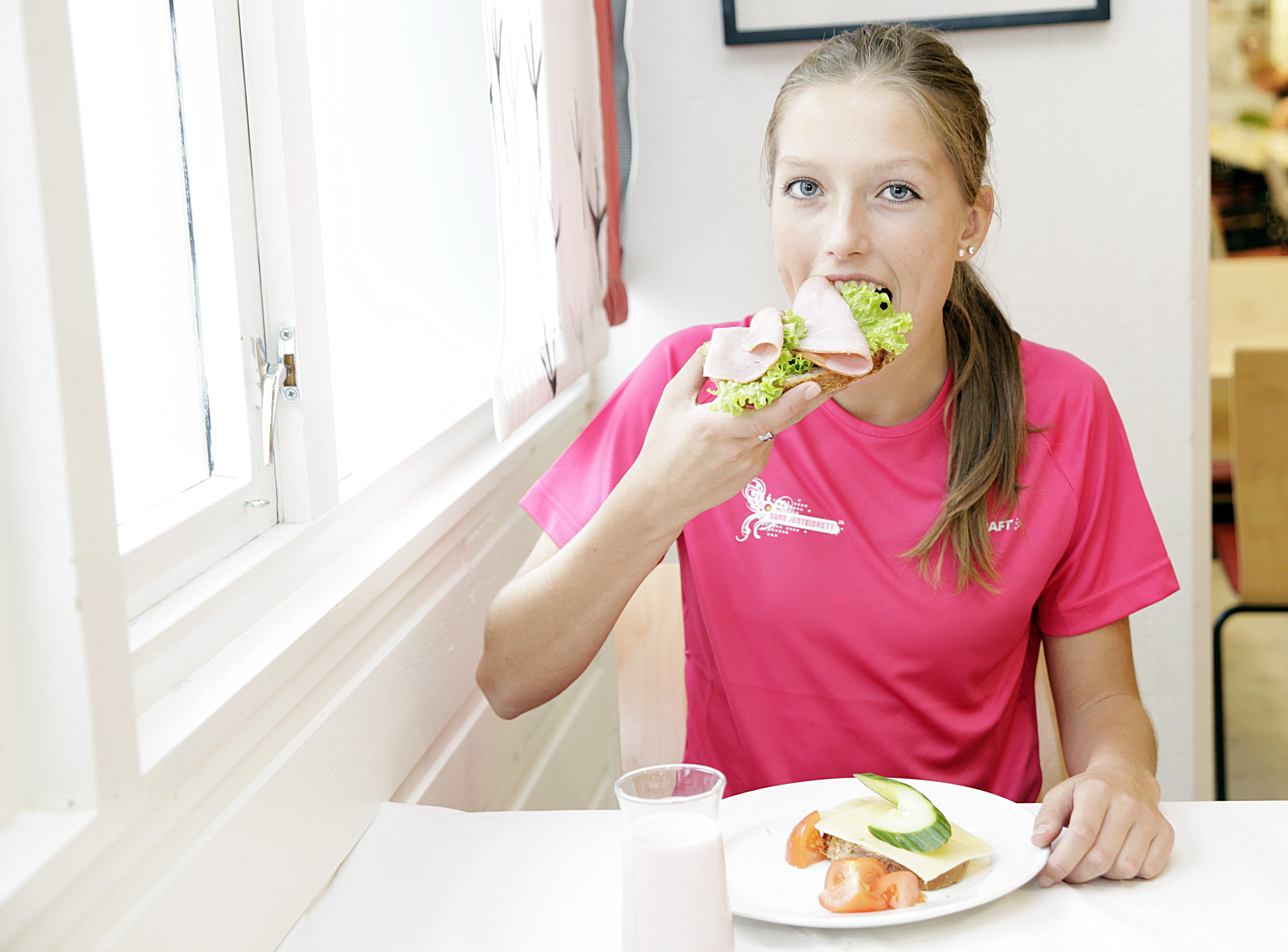 mat før trening styrke